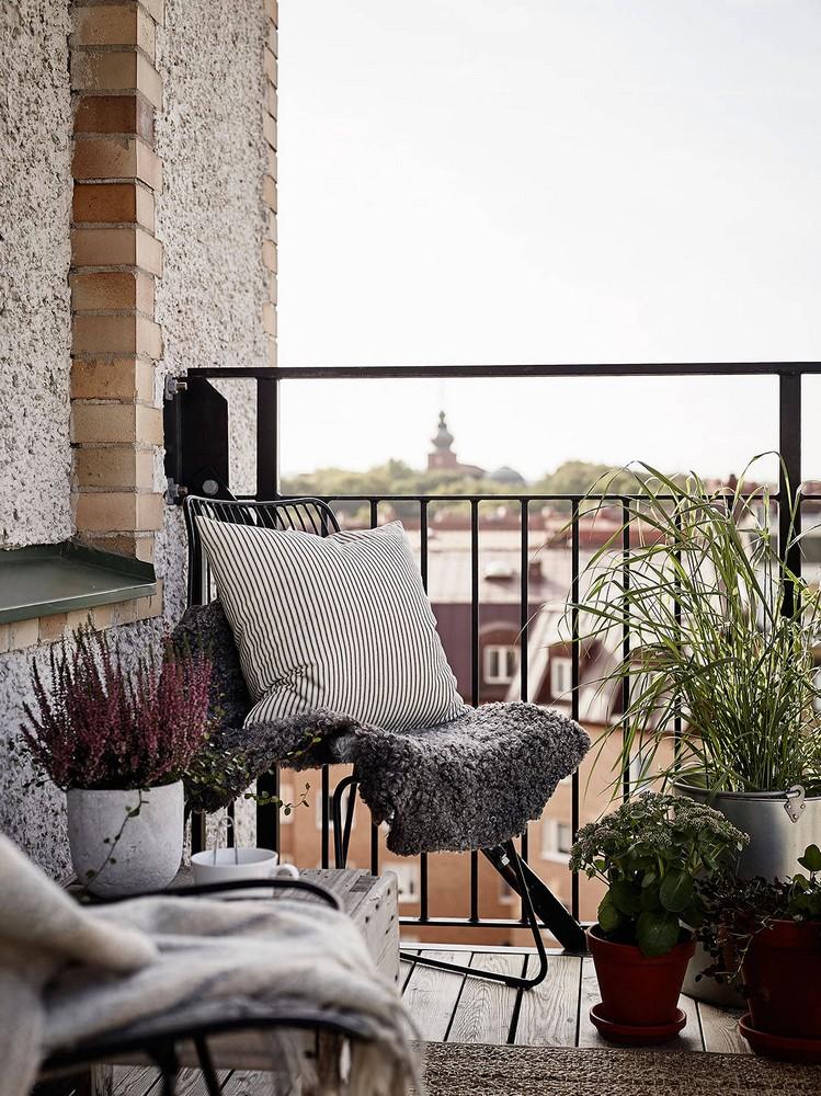 40 idee per arredare un piccolo balcone in citta gm interior design - Studiare interior design ...